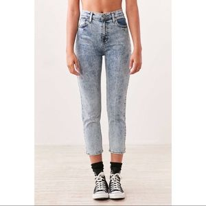BDG Acid Washed Girlfriend Jeans